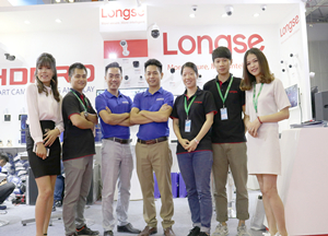 Longse attended Secutech Vietnam 2018, joined by TOAN PHAT at the booth D25 together, showing amazing products and promotion activity where there is a chance to get a scooter or even a car after buying cameras.